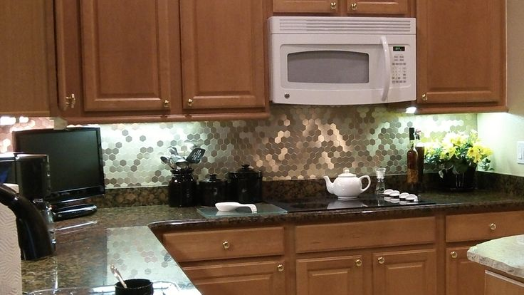 honeycombs kitchens ideas diy backsplash sticks tile ideas aspect