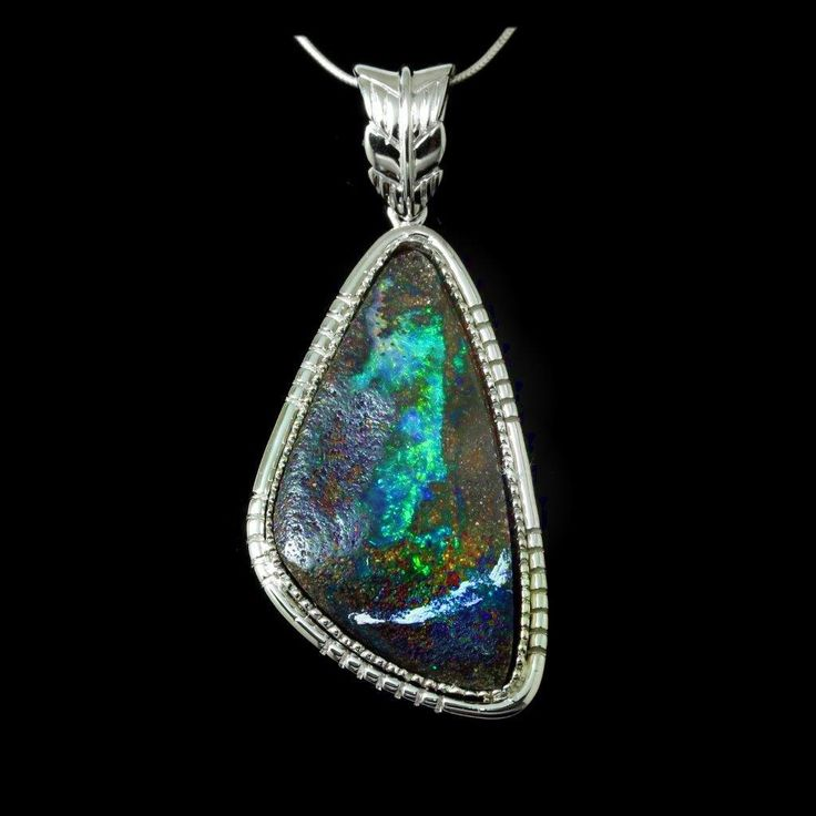 Opal Pendants If you are someone who likes a little bling to show off your outfits, then opal is a godsend gemstone for you. Visit https://opalmine.com/ for details. Shipping is free