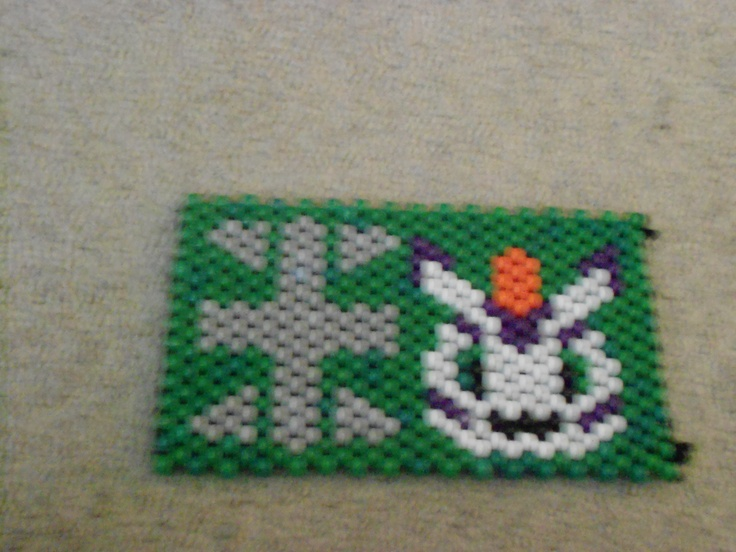 Another beaded purse item. :) I'm getting so quick at making these that I can make one a day.