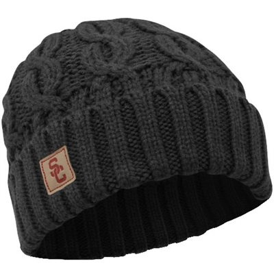 Nike USC Trojans Women's Cable Knit Beanie - Charcoal
