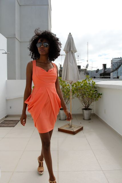 Curly Nikki | Natural Hair Styles and Curly Hair CareCurly Hair Care, Coral, Natural Hair Styles, Nature Hair Style, Big Hair, Curly Nikki, The Dresses, Nature Beautiful, Bright Colors