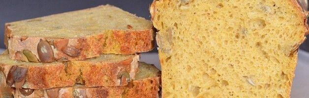 Chleb żytni z dynią