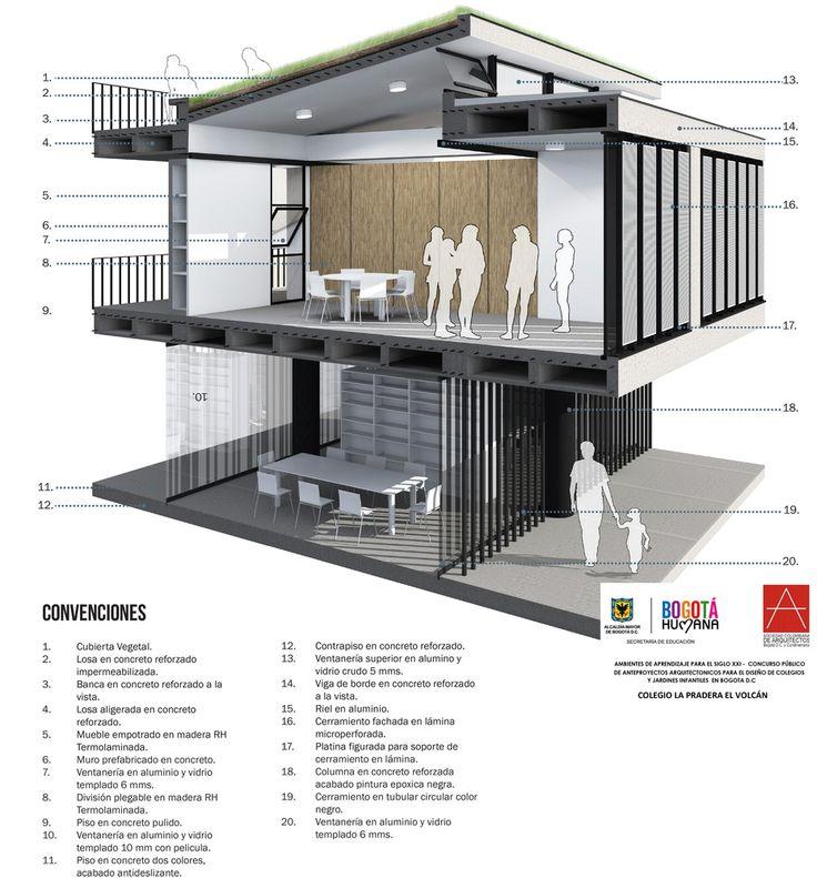Galería de EMS Arquitectos, tercer lugar en concurso Ambientes de Aprendizaje del siglo XXI: Colegio Pradera El Volcán - 30