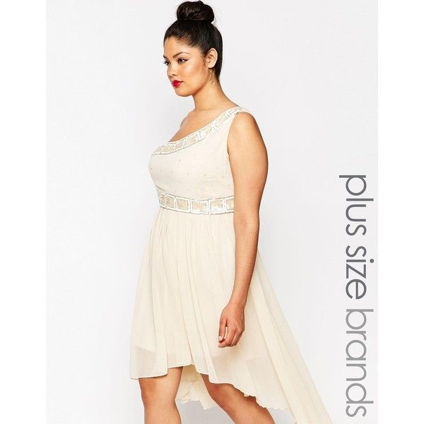 Beautiful One Shoulder White Dress Plus Size Ideas ...
