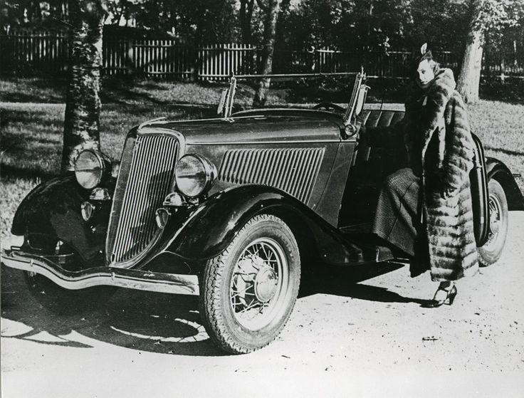Miss Suomi 1934 Annlisa Fahler, #Ford  #misssuomi
