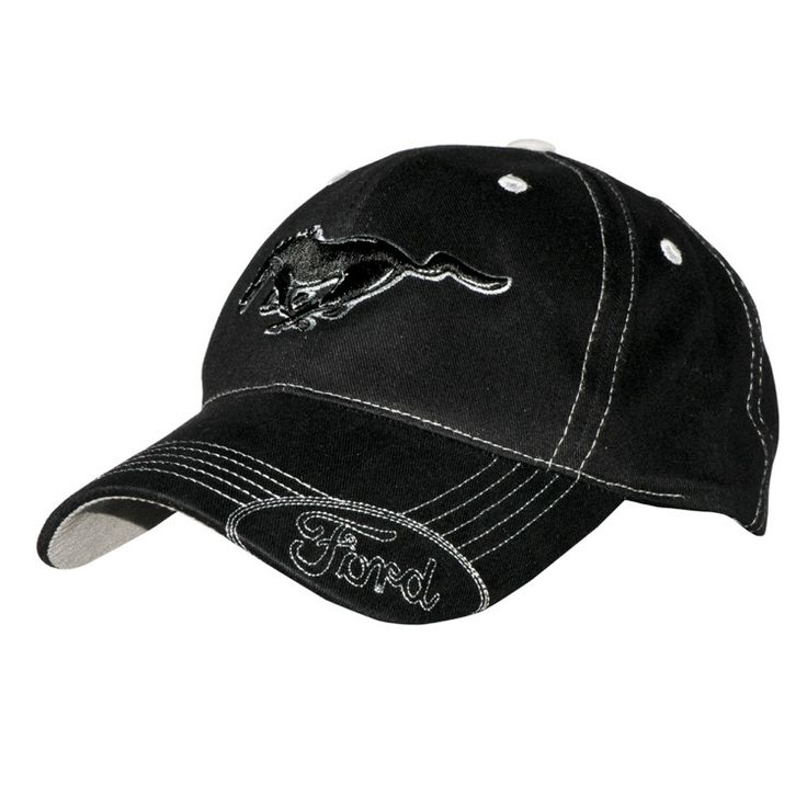 Muscle Car Apparel and Gifts - Ford Mustang Hat - Mustang Stiches, $15.95