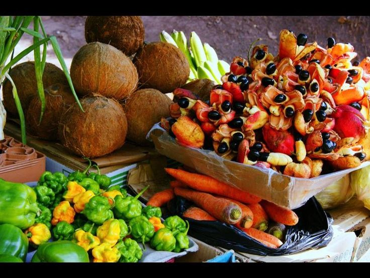 191 best caribbean fruits vegetables images on pinterest for Ackee bamboo jamaican cuisine