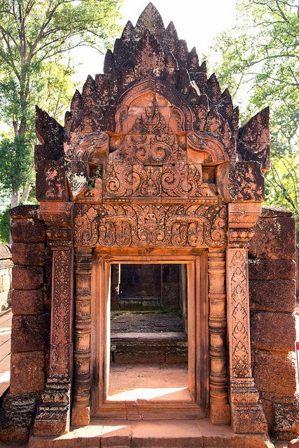 Seam Reap Cambodia Banteay Srei