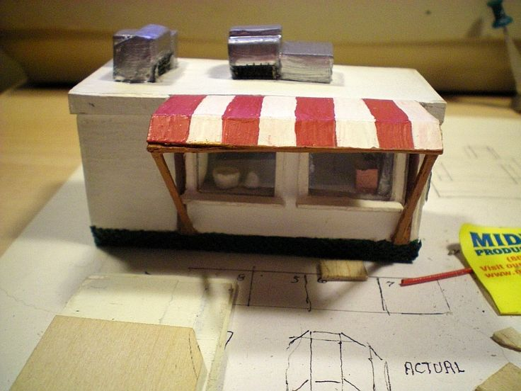 Balsa wood project Chip Wagon