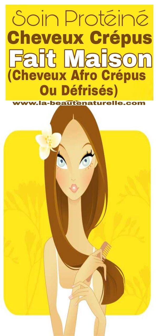 Soin protéiné cheveux crépus fait maison (cheveux afro crépus ou défrisés)