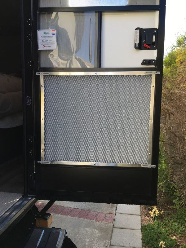 Camco Rv Adjustable Screen Door Standard Grille Aluminum Camco Rv Door Parts Cam43980 Rv Screen Door Door Protector From Dog Rv Screen