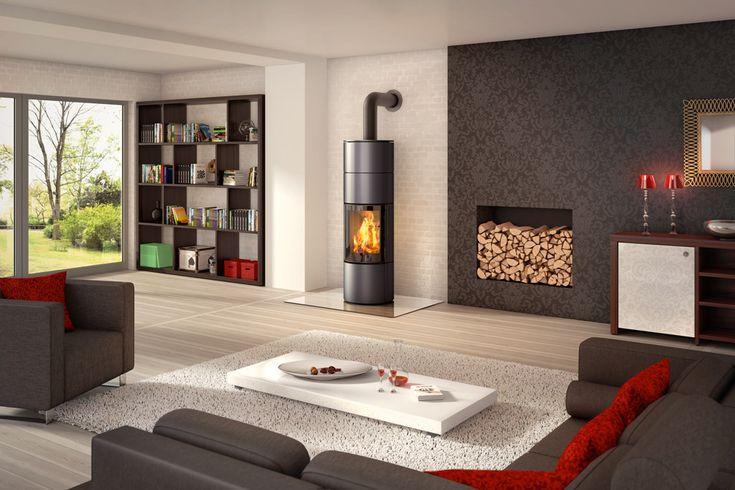 Ambiente A4  #kominki #wklady #piece #spartherm #zainspirujsie #salon #livingroom #wnetrza #interior #design #modern