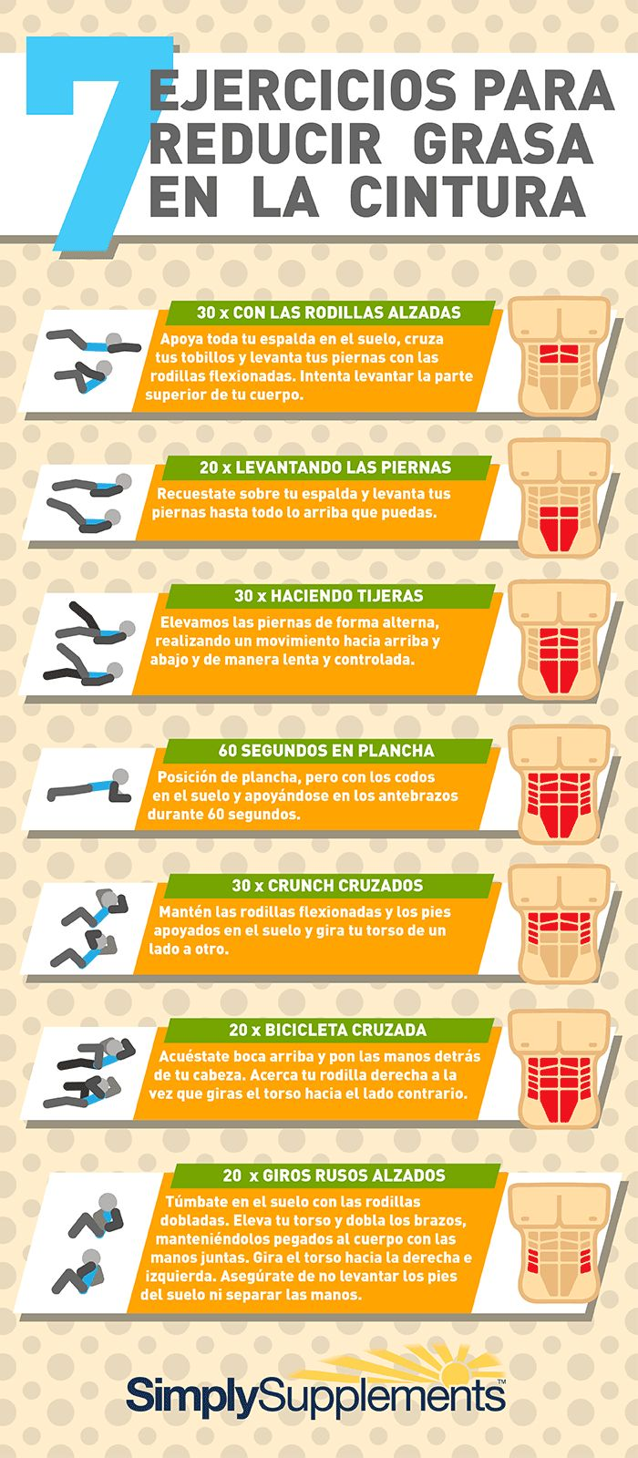 Practica estos ejercicios en la comodidad de tu casa Vía @SimplySuppsES