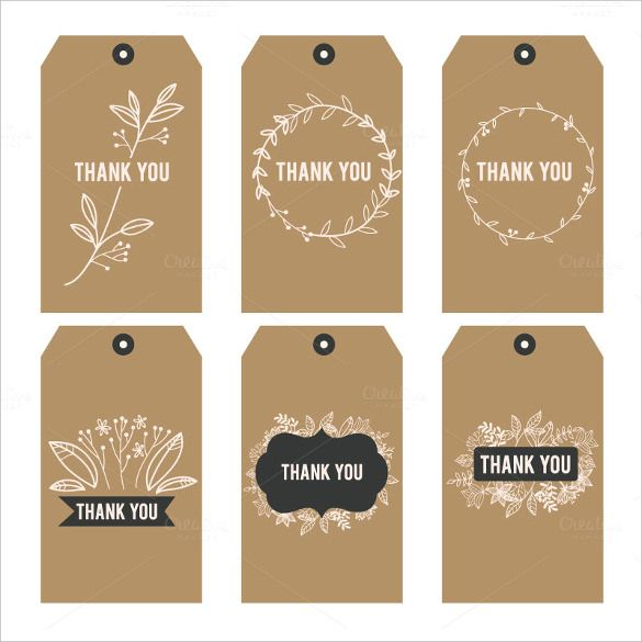 Best 25 tag templates ideas on pinterest gift tag templates free printable thank you stickers hese vintage thank you printable tags are ideal for any negle Image collections