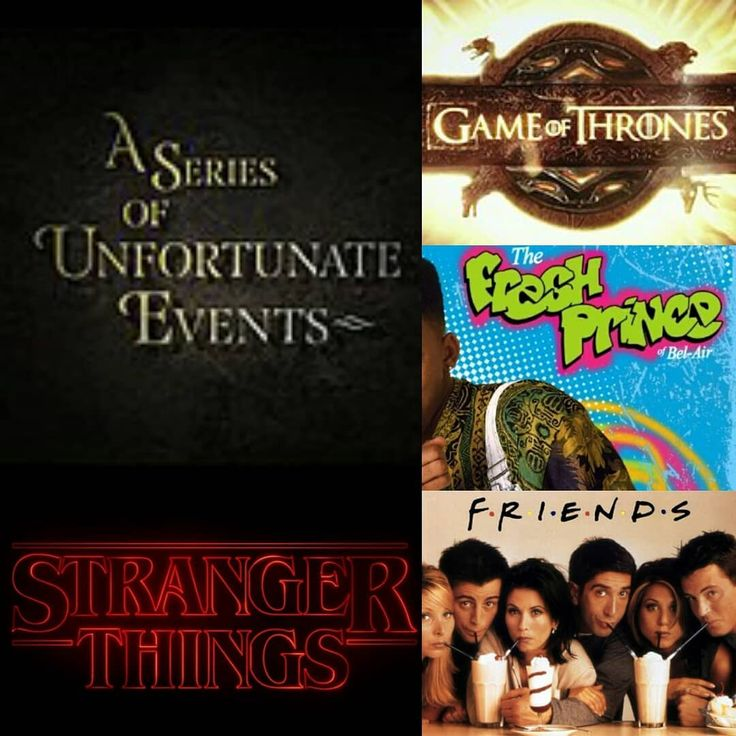My Top 5 TV Show Themes/Theme Songs  5: I'll Be There for You - Friends (1994-2004)  4: Stranger Things Theme - Stranger Things (2016-) 3: Yo Home to Bel-Air - The Fresh Prince of Bel-Air (1990-1996)  2: Game of Thrones Theme - Game of Thrones (2011-) 1: Look Away - A Series of Unfortunate Events (2017-) #aseriesofunfortunateevents #gameofthrones #thefreshprinceofbelair #strangerthings #friends #favouritshows #lookaway #illbethereforyou #yohometobelair #favouritethemesongs