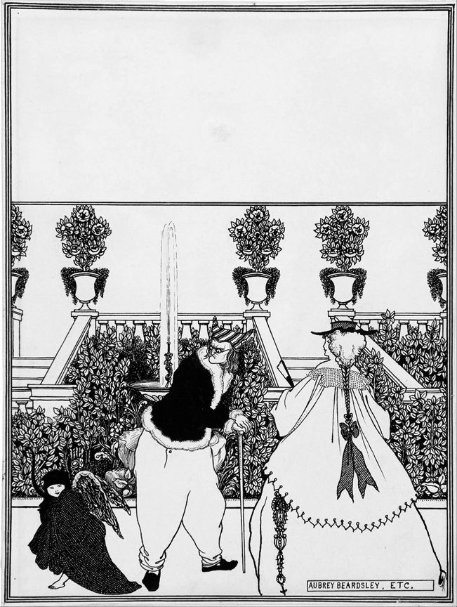 #QueefBook #WhoQueefed on Page 12? Driving of Cupid from the Garden, Aubrey Beardsley, England, 1896. Limited Edition 32pg B&W Book. Available while supplies last.