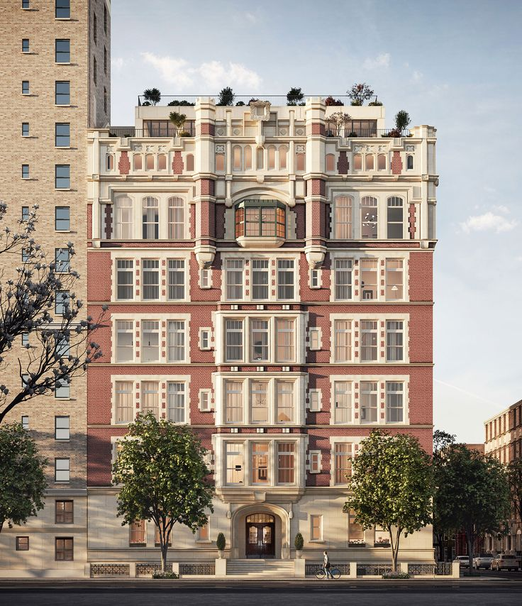 Upper West Side New Luxury Condos | 555 West End Ave in ...