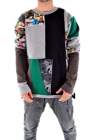 Bluza handmade pentru barbati B3218, marca Different Cut