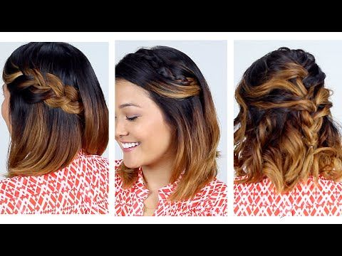 How To Style Short Hair 62 Best Short Hairstyle Tutorials Images On Pinterest  Short