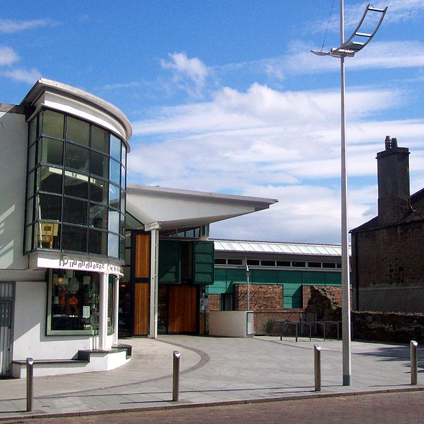 Dundee Contemporary Arts, Our venue for the Dundee consultation event.