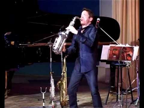 Dave Koz Live in Tver 2008. Full concert on YouTube. It's so much fun and exudes JOY!