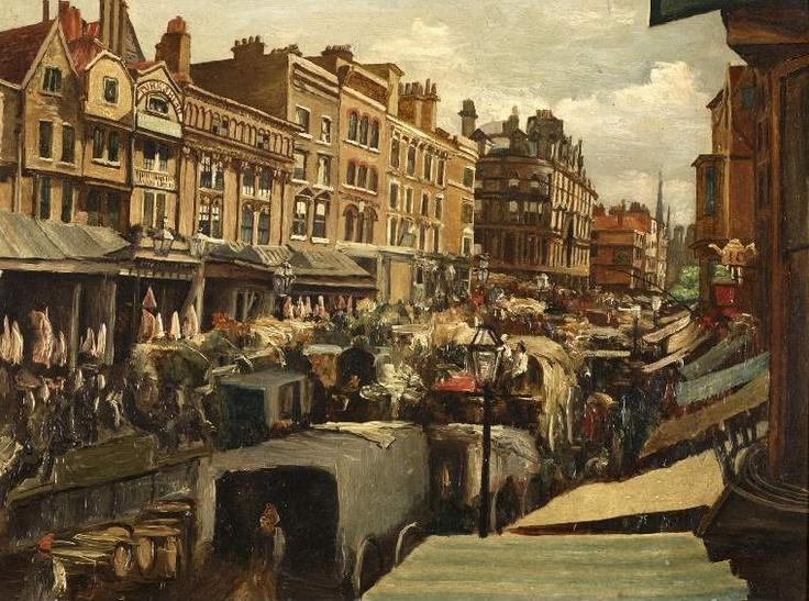 Whitechapel, London, circa 1869