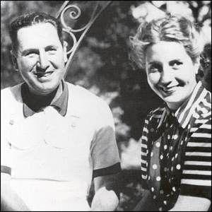 La relación con el general Juan Domingo Perón le cambió la vida... A él también. Este retrato fue tomado en 1945.