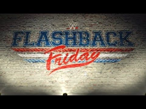 "WWE RAW | News on ""flashback friday"" content on wwe network smackdown social media ratings"