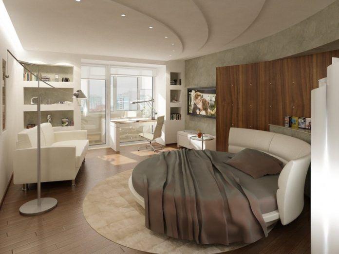 En Güzel Yuvarlak Yatak Odası Takımları, Tasarımları ve Modelleri