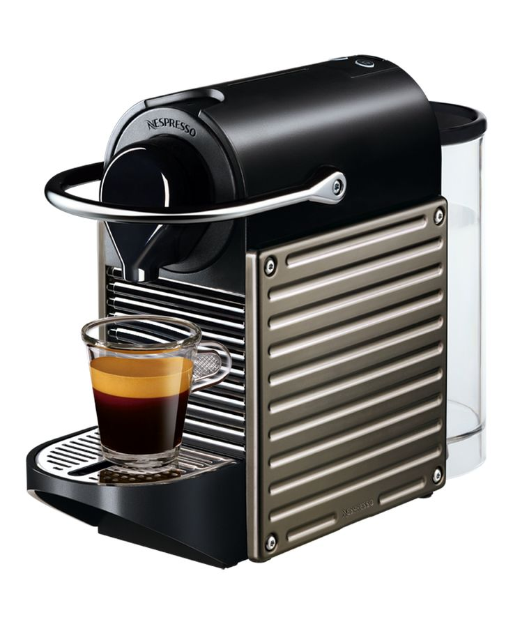 Electroménager  [idée cadeau #2] Machine à café Nespresso Pixie by Krups http://www.leblogdeco.fr/idee-cadeau-2-machine-cafe-nespresso-pixie-krups/ Krups, machine à café, Nespresso, rouge, titane