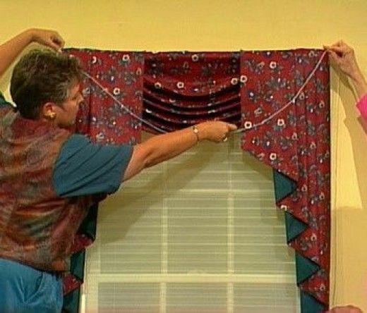 46 Best Images About Window Valance Patterns On Pinterest: 1000+ Ideas About Swag Curtains On Pinterest