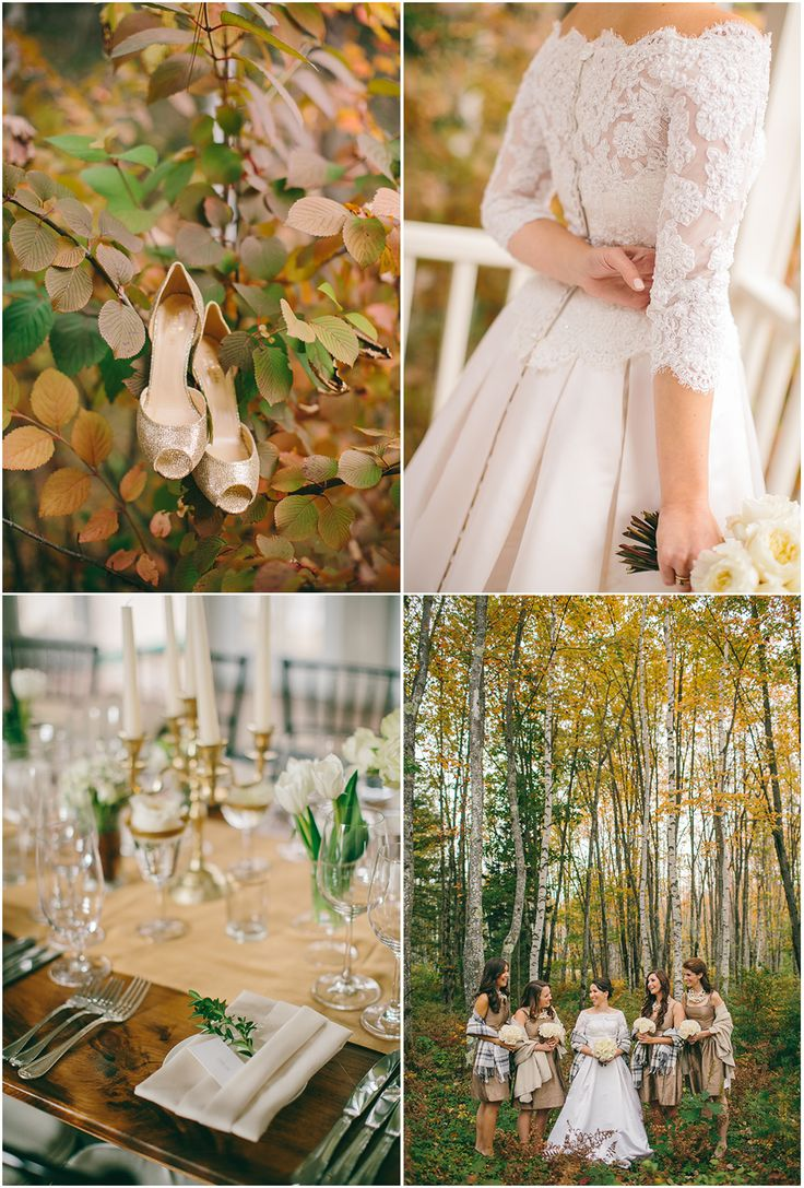Fall Wedding At Hidden Pond In Kennebunkport ME