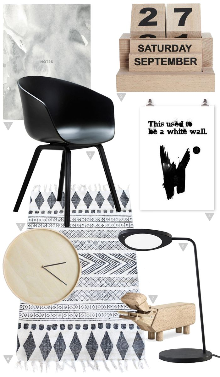 Workspace moodboard, Stylizimo Shop