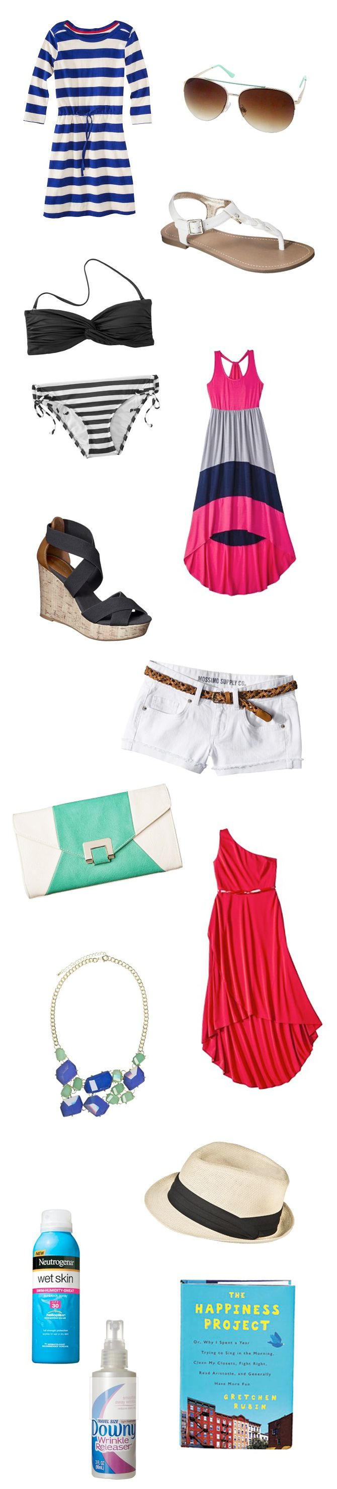 Women's Fashion | Cruise Ship Essentials | Everything you need to pack for your next cruise. All from Target! All under $60! | From the blog Inspiration & A Carry On #womensfashion