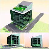 Birou arhitectura ADSS: Concept cladire de birouri