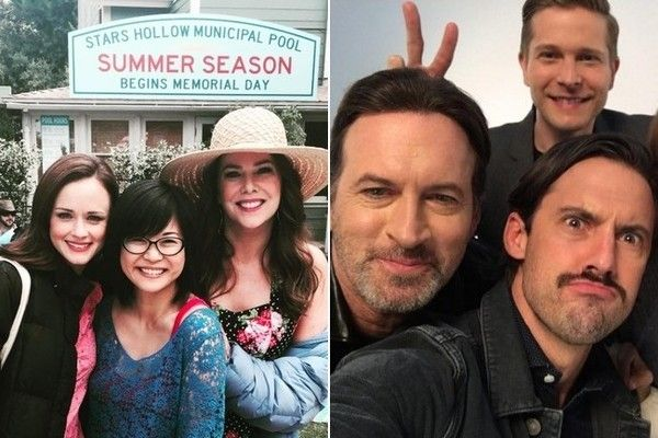The Best Behind-the-Scenes Photos from 'Gilmore Girls: A Year in the Life' - The 'Gilmore Girls' cast had LOADS of fun on set. - Photos