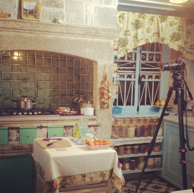 Cooking Program Shoot in our kitchen.. December, 2013