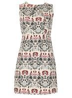 Womens *Izabel London Multi Beige Dress- Beige