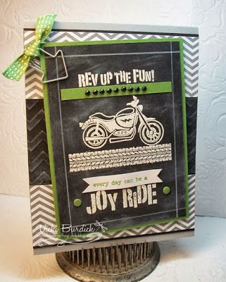 by Vicki Burdick, It's a Stamp Thing: Rev Up the Fun