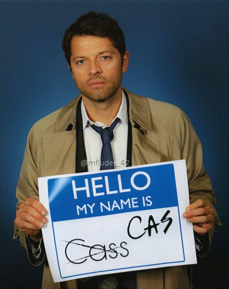 Misha is NOT amused