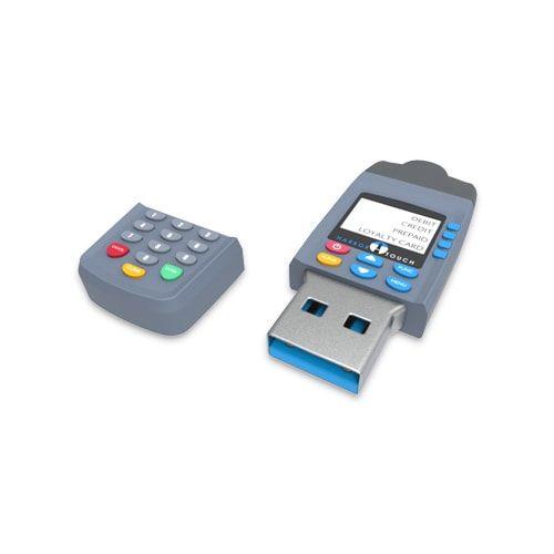Credit Card Machine Flash Drive FDCS034 | by LogoTech
