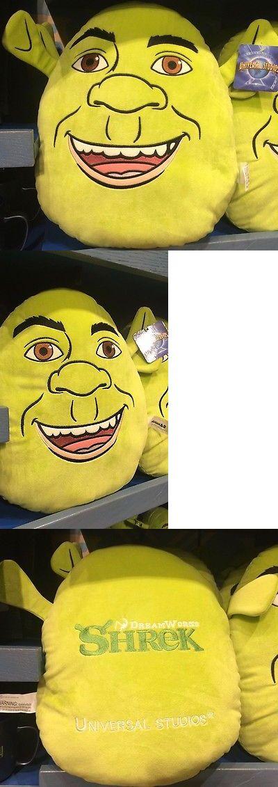 Shrek 158761: Universal Studios 15 Shrek Face Pillow Plush New With Tags -> BUY IT NOW ONLY: $35.99 on eBay!
