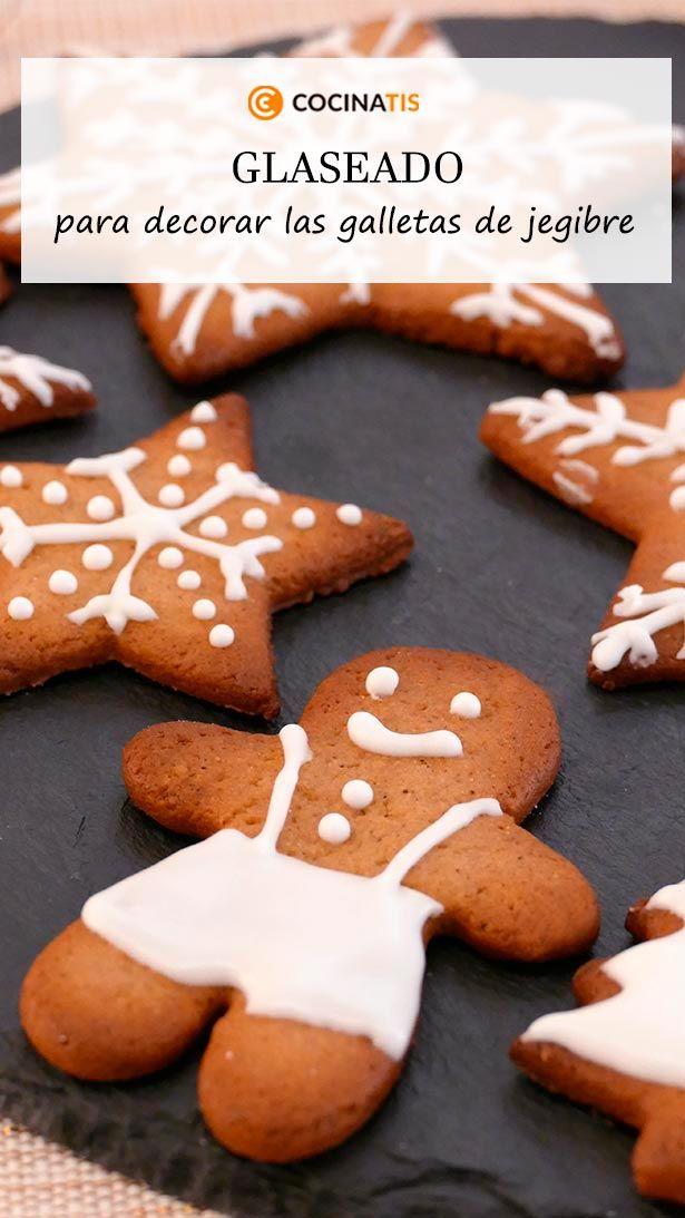 Glaseado Para Decorar Galletas De Navidad Cocinatis Receta En 2021 Glaseado Para Galletas Galletas Recetas De Comida