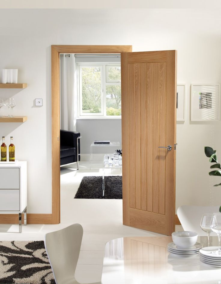 XL - INTOSUF32-FD Internal Oak Suffolk Fire Door - Fire Doors