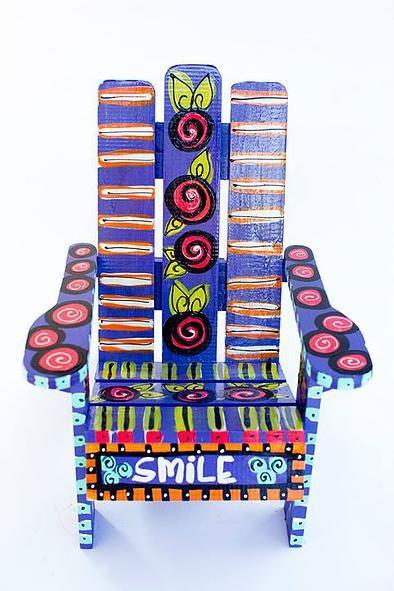 Eclectic Artwork, Adirondack Chairs & Revamped Furniture Alabama