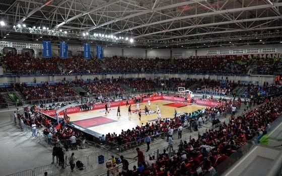 Arena Carioca 2, casa do judô e da luta olímpica nos Jogos Olímpicos, recebe as finais do NBB (Foto: Luiz Pires / LNB)