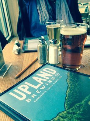 Out for a Sunday drive to visit the University of Indiana Art Museum and a sampling of craft beers at Upland Breweries in Bloomington, IN