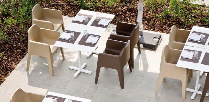 Polypropylen Stuhl Plus von Pedrali