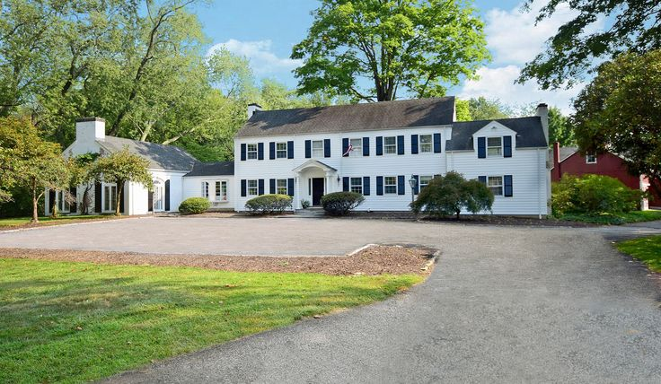 Classic Colonial & 5,000SF Barn .. 182 West Rd, New Canaan CT. Represented by Patti Fieber and Sheila Rosenthal. To see more eye candy on this home go to https://www.halstead.com/sale/ct/new-canaan/182-west-rd/house/99119118