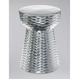 Modern Chrome Ceramic Garden Stool  sc 1 st  Pinterest : chrome garden stool - islam-shia.org
